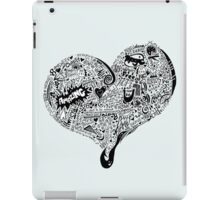 Heartfull in blue iPad Case/Skin