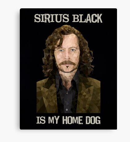 Sirius Black is My Home Dog Canvas Print