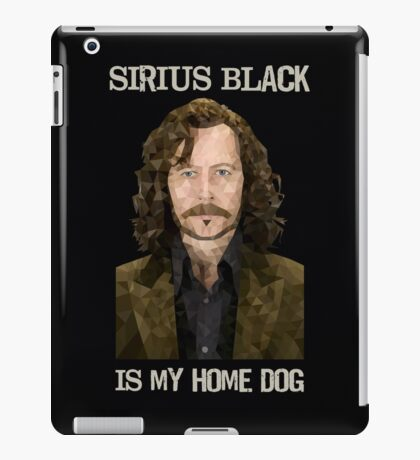 Sirius Black is My Home Dog iPad Case/Skin