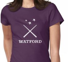 Watford School of Magicks, Simon Snow - Large Logo, white Womens Fitted T-Shirt