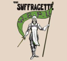 W.S.P.U. - The Suffragette by Hawthorn Mineart