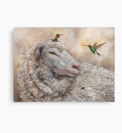 Baa, Hum, Bug Canvas Print
