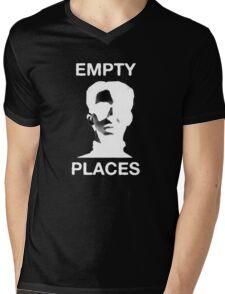 Empty Places Mens V-Neck T-Shirt