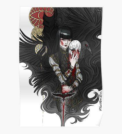 dagger & mask Poster
