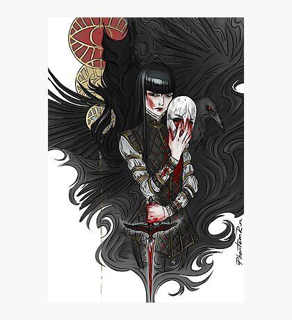 dagger & mask Photographic Print