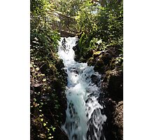 ANOTHER WATERFALL Photographic Print
