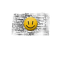 The Face of Positivity Photographic Print