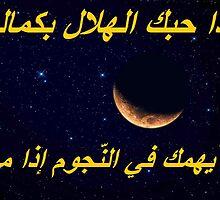 Tunisian Proverb  the half moon by cherif Nidhal