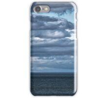 Yacht near Tarlair. iPhone Case/Skin