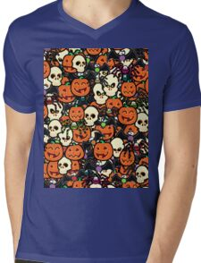 Halloween Hullabaloo  Mens V-Neck T-Shirt