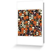Halloween Hullabaloo  Greeting Card