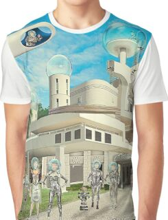 She Is Cosmic Graphic T-Shirt