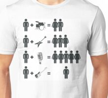 LONELY BASS PLAYER Unisex T-Shirt