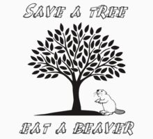 Save a tree, eat a beaver! by Nami-Swaaan