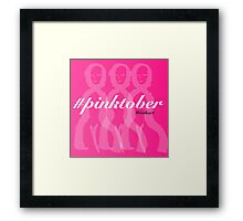 Pretty in Pinktober Framed Print