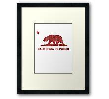 Cali Republic Framed Print