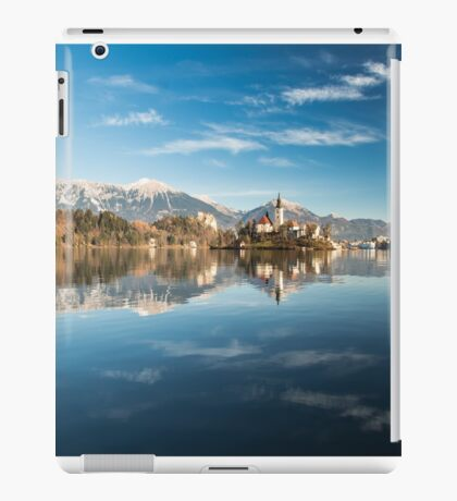 morning at the lake of Bled iPad Case/Skin