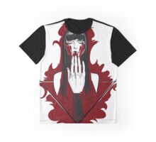 blood red Graphic T-Shirt