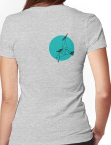 Grafische Lachmöwe Solo Womens Fitted T-Shirt