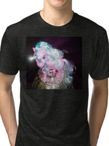 Diamond Dreams Mercedes MLP Unicorn Tri-blend T-Shirt