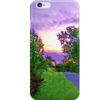 Air Brushed Landscape iPhone Case/Skin