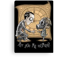 I Am Not Your Mummy Canvas Print