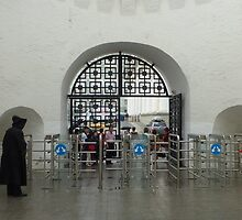 entrance to the kremlin by annet goetheer