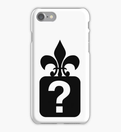 Question iPhone Case/Skin