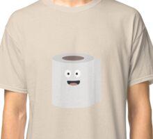 Toilet paper with face Classic T-Shirt