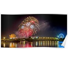 Southport Fireworks Poster