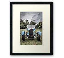 Vintage Automobile Framed Print