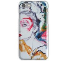 Audrey in colours iPhone Case/Skin