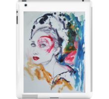Audrey in colours iPad Case/Skin