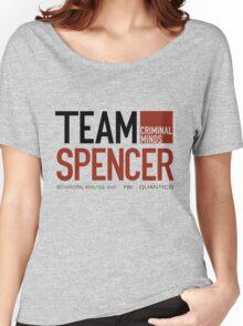 Team Spencer Reid (Black on White) Women's Relaxed Fit T-Shirt