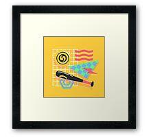 80's Earthbound Framed Print