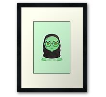 Emerald City Elphaba | Wicked Framed Print