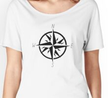 Point North For Me Dear Women's Relaxed Fit T-Shirt