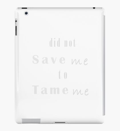 Christian Inspirational Apparel and Gifts  iPad Case/Skin