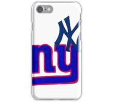 yankees and giants iPhone Case/Skin