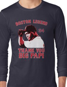Thank You Big Papi Long Sleeve T-Shirt