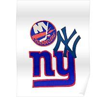 new york teams Poster