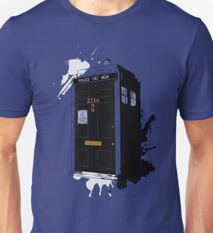 Dr Sherlock Who Unisex T-Shirt
