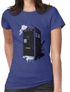 Dr Sherlock Who Womens Fitted T-Shirt