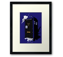 Dr Sherlock Who Framed Print
