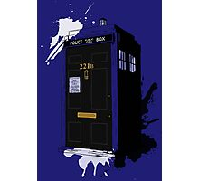 Dr Sherlock Who Photographic Print
