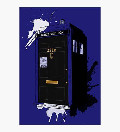 Dr Sherlock Who Photographic Print