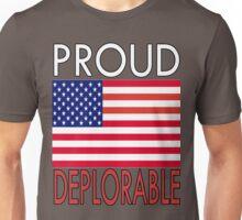 PROUD DEPLORABLE - USA PRINT Unisex T-Shirt
