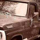 Abandoned Truck - Sepia Tone Photograph  by GeminiMoon