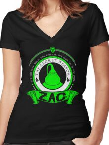Zac - The Secret Weapon Women's Fitted V-Neck T-Shirt