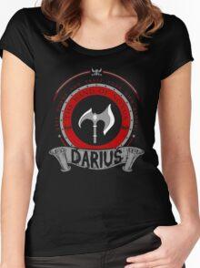Darius - The Hand of Noxus Women's Fitted Scoop T-Shirt